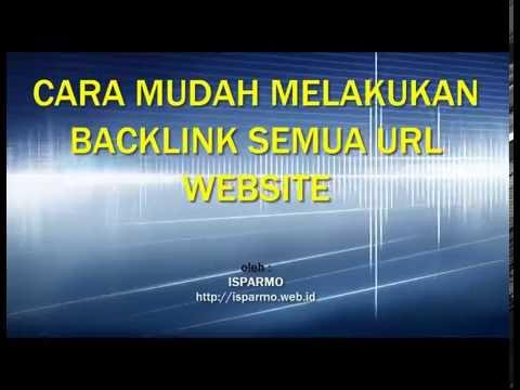 Cara Mudah nge Backlink Semua URL Website ke Goo.gl
