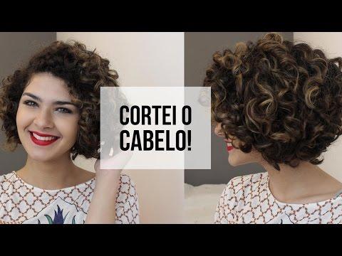 MEU NOVO CORTE DE CABELO - Chanel em Cabelo Cacheado!