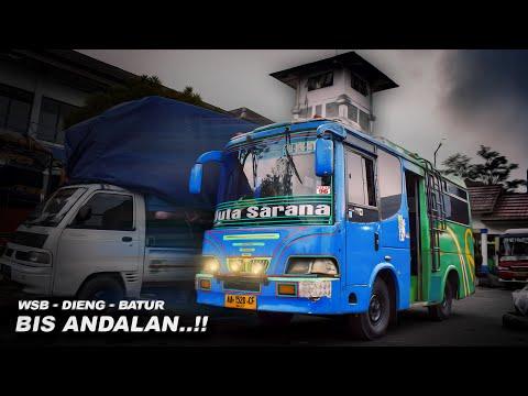 Pesona Jalur Dieng   Naik Mikro Bus ke Dataran Tinggi DIENG