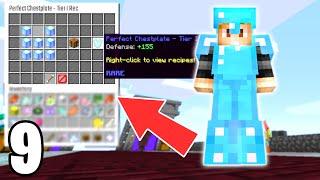 We UNLOCKED Perfect Diamond Armor!   Hypixel Skyblock #9