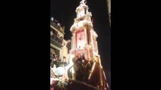 Festa di Gesù Nazareno 2014 - Partenza del Carro trionfale