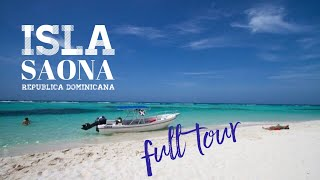 Isla Saona,Republica Dominicana. Full Tour.