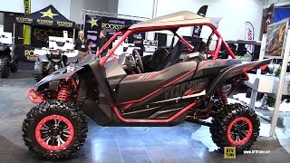 9. 2017 Yamaha YXZ 1000R SS EPS Special Edition Sport Side by Side ATV - Walkaround