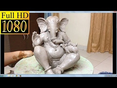 Eco friendly Clay Ganesh Easy
