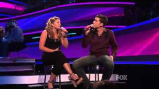 Lauren Alaina & Scotty McCreery - I Told You So - American Idol Top 11 Results Show - 03/31/11