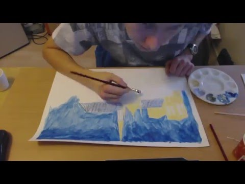 Speed painting Notre-Dame