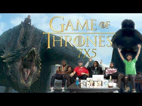 "Game of Thrones Season 7 Episode 5 ""East Watch"" REACTION!"