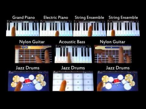 Video of Walk Band: Piano,Guitar,Drum..