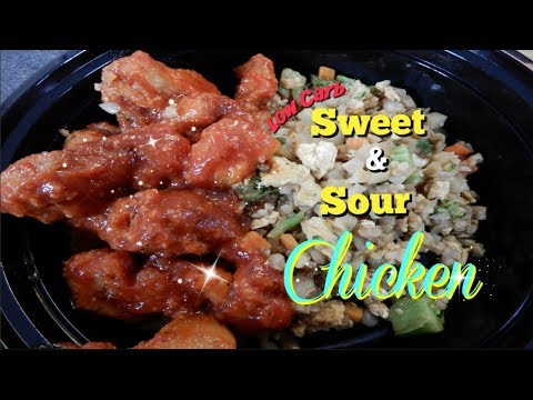 Low carb diet - Low Carb Sweet & Sour Chicken - Meal Prep Sunday [MeetTheNelson's]