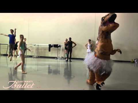 VIDEO: Real Life T-Rex Ballet Dances