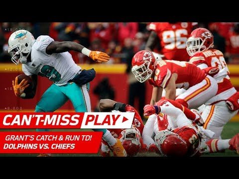 Video: Jakeem Grant Goes Full BEAST MODE on 65-Yd Catch-'n-Run TD! | Can't-Miss Play | NFL Wk 16