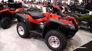 6. 2016 Honda Rincon 4x4 Recreational ATV - Walkaround - 2015 AIMExpo Orlando