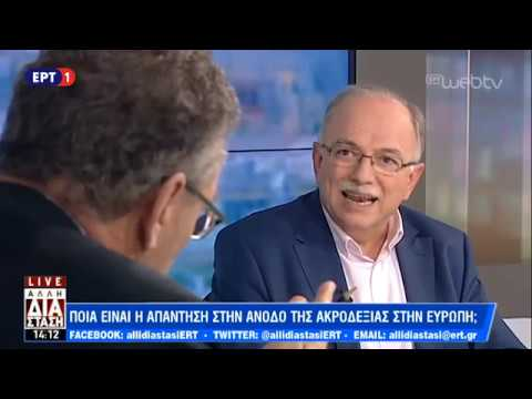 Ο Αντιπρόεδρος του Ευρωπαϊκού Κοινοβουλίου Δημήτρης Παπαδημούλης στη «Άλλη Διάσταση» | ΕΡΤ