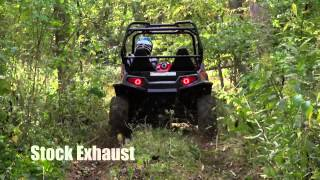 10. HMF Swamp Series Exhaust and Fuel Optimizer for the RZR S 800, Product Test