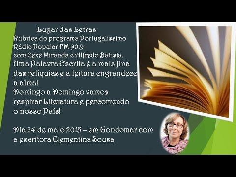 Lugar da Letras - Dia 24 de maio, com Clementina Sousa