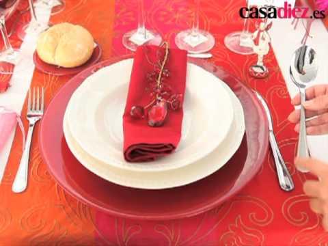 Decoraci n para mesas navide as manualidades hoy - Decoracion navidena para la mesa ...