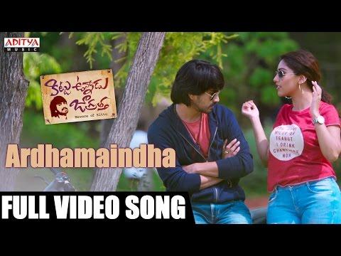 Ardhamaindha Full Video Song || Kittu Unnadu Jagratha Video Songs || Raj Tarun, Anu || Anup Rubens|