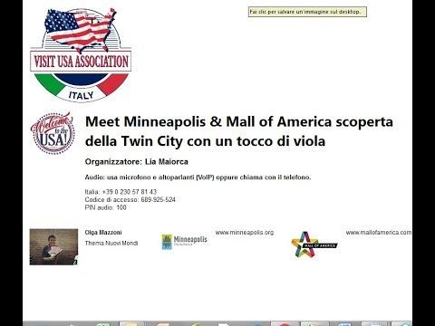 Video Meet Minneapolis & Mall of America scoperta della Twin City con un tocco di viola  (27-3-2018)