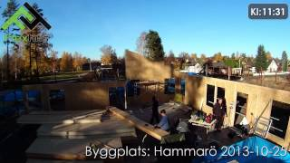 Video: Byggplats: Hammarö 2013-10-25