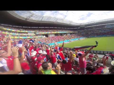 Gol de Costa Rica contra Italia! Mundial Brasil 2014