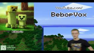 Pew Pew, Lots of News! & BLOOPERS! - Minecraft Monday Show Ep:2