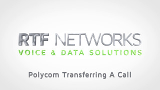 RTF Polycom - Transferring a Call