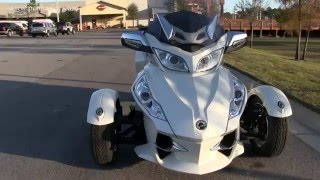 7. Used 2012 Can-Am Spyder RT Limited