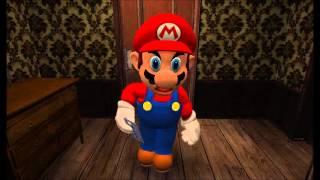 Mario Plays Ao Oni  Pewdiepie Parody