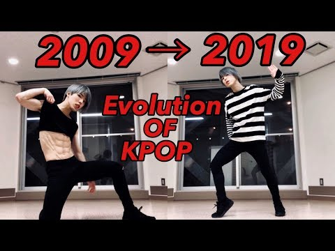 Evolution of KPOP DANCE / (2009 ~ 2019) 10 Years Of Kpop Group