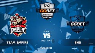 Empire vs BHG (карта 1), GG.Bet Birmingham Invitational | Группа B