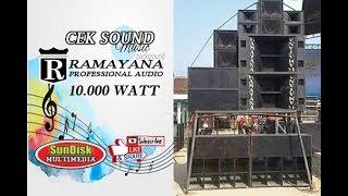 Video DETIK DETIK CEK SOUND RAMAYANA 10,000 WATT WOOOW....GLERR .....MANTEPP DG KENDANG KY AGENG SELAMET MP3, 3GP, MP4, WEBM, AVI, FLV September 2019
