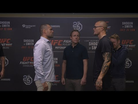 Fight Night Hamburg: Media Day Faceoffs