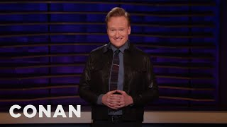 Conan On The Polar Vortex & Super Short Super Bowl Ads