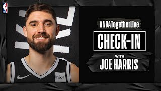 #NBATogetherLive Check-In With Joe Harris by NBA