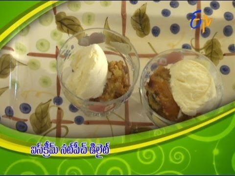 Telugu-Ruchi-Amerikalo--Ice-Cream-Nut-Peach-Delight--ఐస్-క్రీం-నట్-పీచ్-డీలైట్
