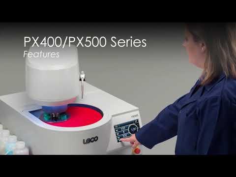 PX400/PX500 Schleif- und Polierautomat