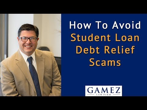 How To Avoid Student Loan Debt Relief Scams
