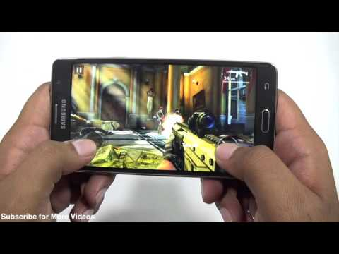 Samsung Galaxy On7 Gaming Review with Benchmarks & Heating Test (видео)