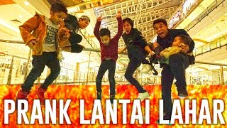 Video PRANK LANTAI LAHAR DI MALL - THE FLOOR IS LAVA CHALLENGE MP3, 3GP, MP4, WEBM, AVI, FLV Maret 2018