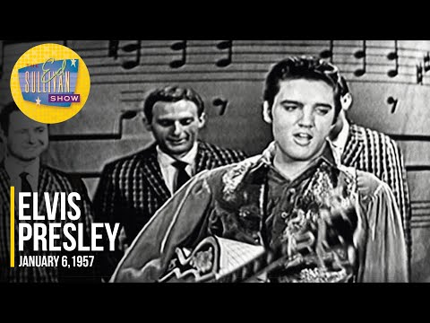 "Elvis Presley ""Hound Dog, Love Me Tender & Heartbreak Hotel"" on The Ed Sullivan Show"