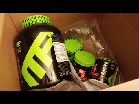 New Supplement Unboxing from Bodybuilding.com