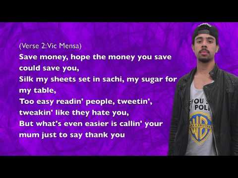 Vic Mensa - Time Is Money (ft. Rockie Fresh) - Lyrics