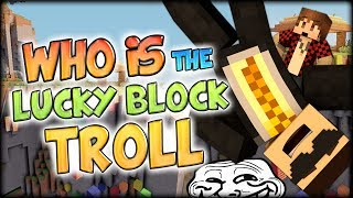 Who is the new Lucky Block Troll?? - Minecraft Mods - Lucky Block Parkour #2 w/ BajanCanadian