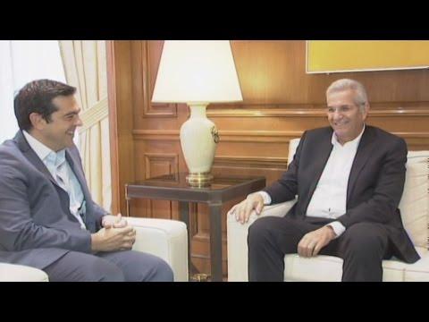 Συνάντηση Αλέξη Τσίπρα – Άντρου Κυπριανού