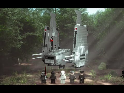 Конструктор Командный шаттл Кайло Рена - LEGO STAR WARS - фото № 15