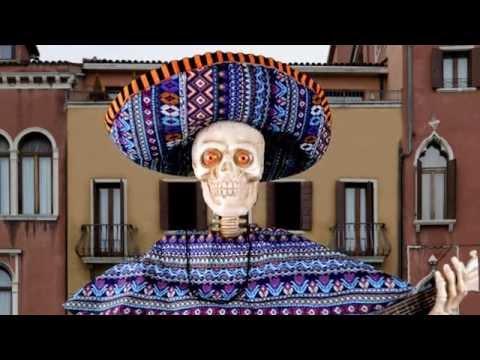 Skeleton Playing Guitar Animated Prop – Halloween Decorations   Trendyhalloween.com