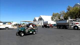 10. Sold! 2006 EZ-GO TXT Gas Powered Golf Utility Cart Robin 13HP bidadoo.com