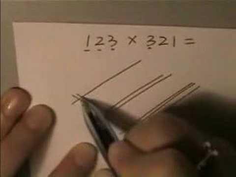看看老外是怎麼做乘法的!?