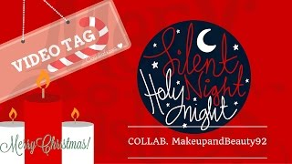 ❤ |Happy xmas Tag:Collab. Feat MakeupandBeauty92|claudiafxoxo|❤ - YouTube