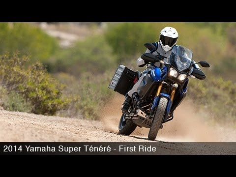 2014 Yamaha Super Tenere First Ride - MotoUSA
